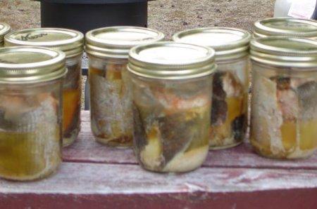 Изготовление рыбных консервов в домашних условиях.