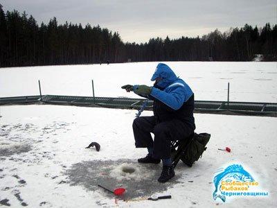 Зимняя ловля голавля