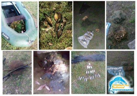 Чернігівський рибоохоронний патруль за тиждень викрив 10 грубих порушень