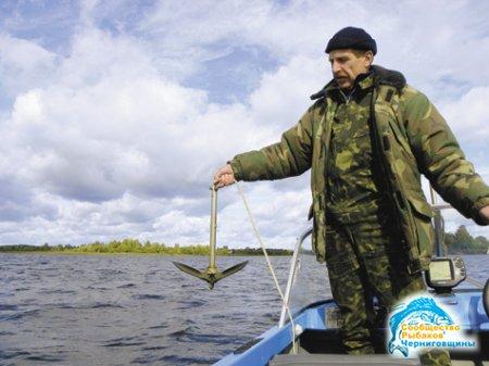 Рыбалка с якоря