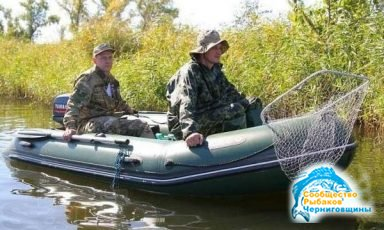 Выбор надувной лодки для рыбалки